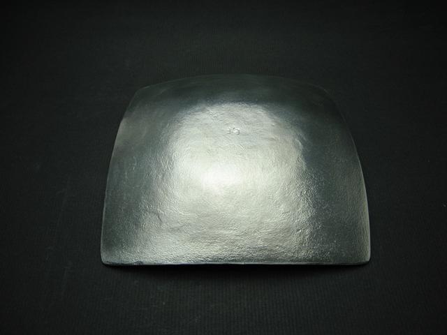 錫製和食器【蝋線角皿】作家「小泉均」
